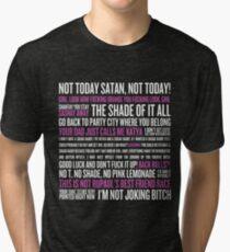 Rupaul's Drag Race Quotes (black background) Tri-blend T-Shirt