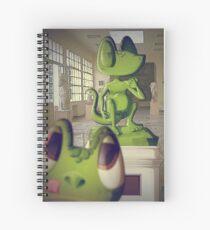 Franck & Zaphod Spiral Notebook