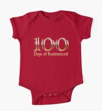 100 Days of Resistance Michael Moore March T Shirts One Piece - Short Sleeve