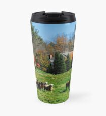 Sheep Farm in the Vermont Countryside Travel Mug