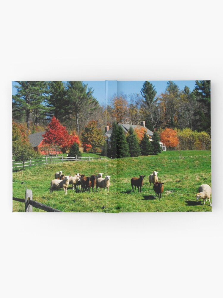 Alternate view of Sheep Farm in the Vermont Countryside Hardcover Journal