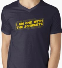 The Schwartz Is With Me Men's V-Neck T-Shirt