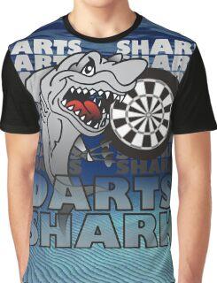 Darts Shirt For The Darts Shark Graphic T-Shirt