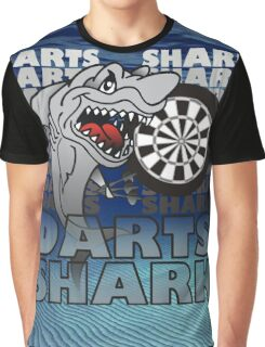 Darts Shirt For The Darts Shark Graphic T-Shirt