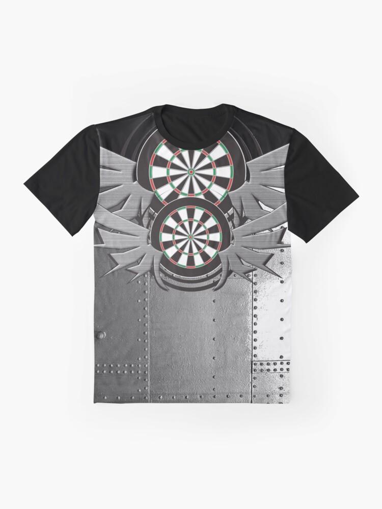 Alternate view of Flight Crew Darts Shirt Graphic T-Shirt