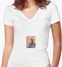 Alduin's apprentice  Women's Fitted V-Neck T-Shirt