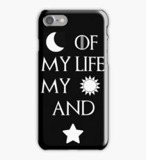 Moon of my life my sun and stars iPhone Case/Skin