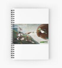 The creation of Zaphod - The creation of Zaphod Spiral Notebook