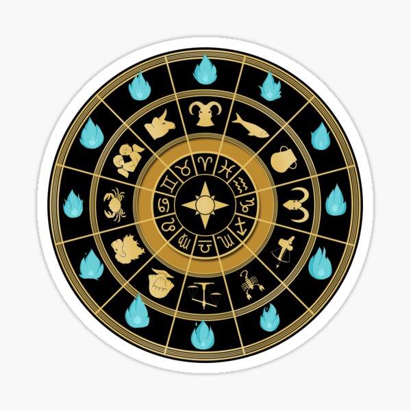 Horloge Saint Seiya Sticker