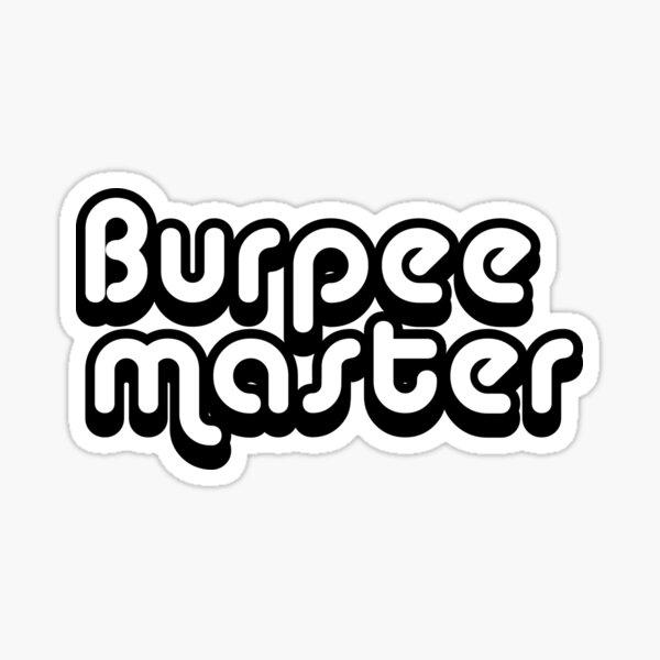 Burpee Master Sticker