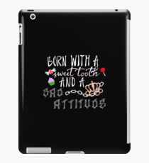 Born With (Black) iPad Case/Skin