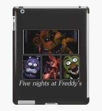 Five nights at Freddy's iPad Case/Skin