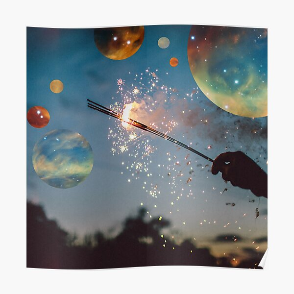 Space Sparkles Poster