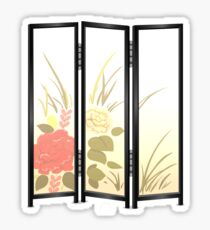 Glitch furniture largefrontfloordeco flower screen  Sticker