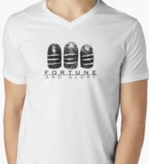 Fortune and Glory Kid Men's V-Neck T-Shirt
