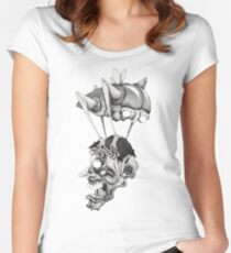 space louse Women's Fitted Scoop T-Shirt