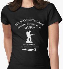 Battlefield Duff Womens Fitted T-Shirt