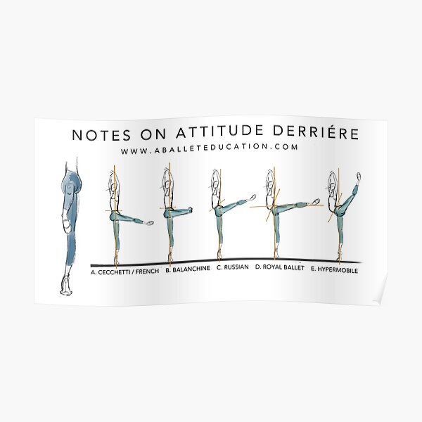 Notes on Attitude Back Poster