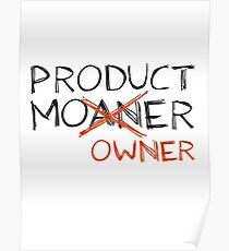 Product Moaner Poster