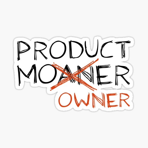 Product Moaner Sticker