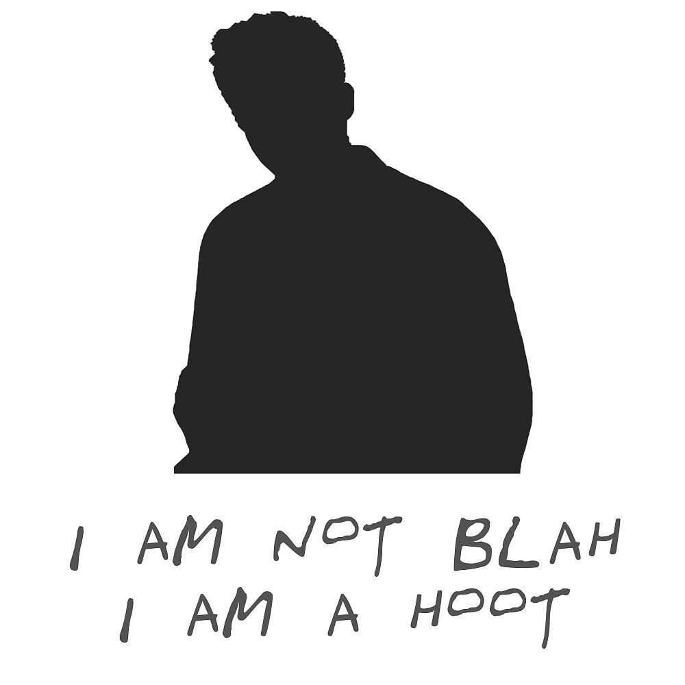 Chandler - I am not blah, I am a hoot by ohmondieu