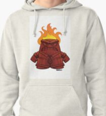 Tiki God of Anger Pullover Hoodie