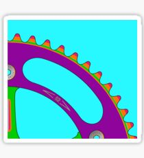 Psychedeli-Cat Chainring Sticker