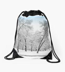 First Snow Drawstring Bag