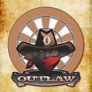 Outlaw Darts Shirt by mydartshirts