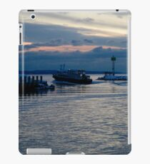 Falmouth Harbor, Just Before A Blizzard iPad Case/Skin