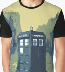 Tardis in the old town Graphic T-Shirt