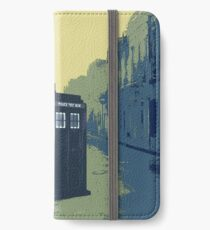 Tardis in the old town iPhone Wallet/Case/Skin