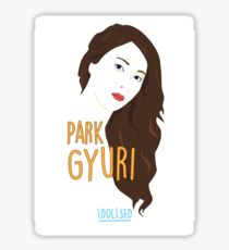KARA Gyuri Sticker