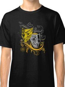 Zodiac - Gemini -  Black & Gold Classic T-Shirt