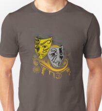 Zodiac - Gemini -  Black & Gold Unisex T-Shirt