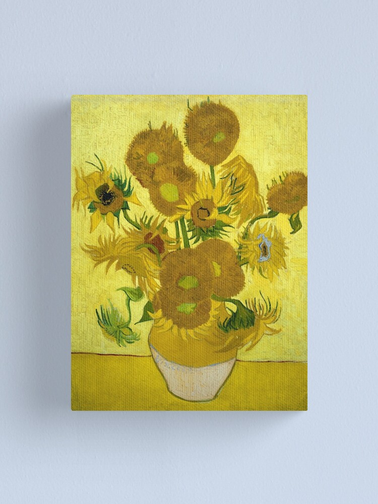 Vincent Van Gogh Sunflowers 1889 Canvas Print By Thevintageartco Redbubble