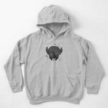 Eine Reihe unglücklicher T-Shirts Kinder Hoodie