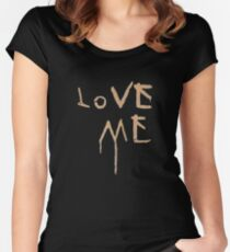 Love Me T-Shirt Women's Fitted Scoop T-Shirt