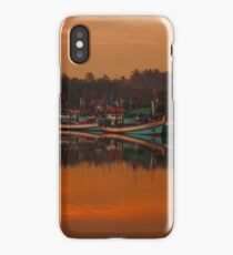 Chumphon river side at sunset, Thailand iPhone Case/Skin