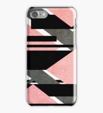 Scratched Canon Pink iPhone Case/Skin