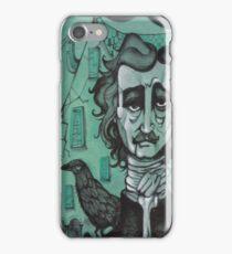 Mr Edgar Allan Poe iPhone Case/Skin