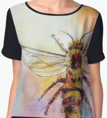 Queen Bee Chiffon Top