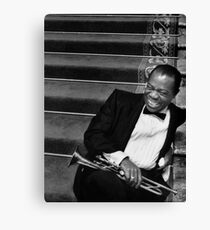 "Louis ""Satchmo"" Armstrong Canvas Print"