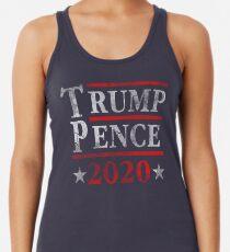 Camiseta con espalda nadadora Trump Pence 2020