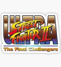 Ultra Street Fighter 2 The Final Challengers Sticker
