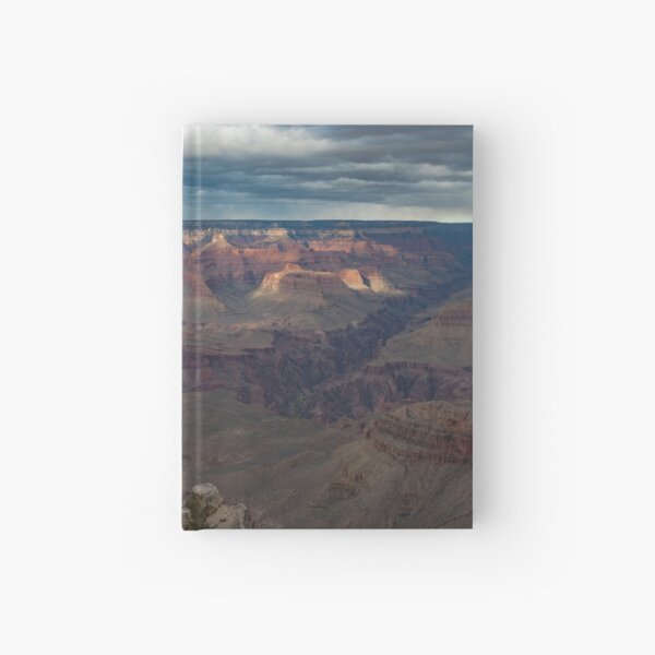 Grand Canyon Overlook Split Rock Hardcover Journal