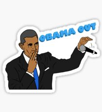 Obama Out Sticker