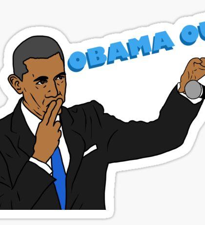 Obama Out Sticker