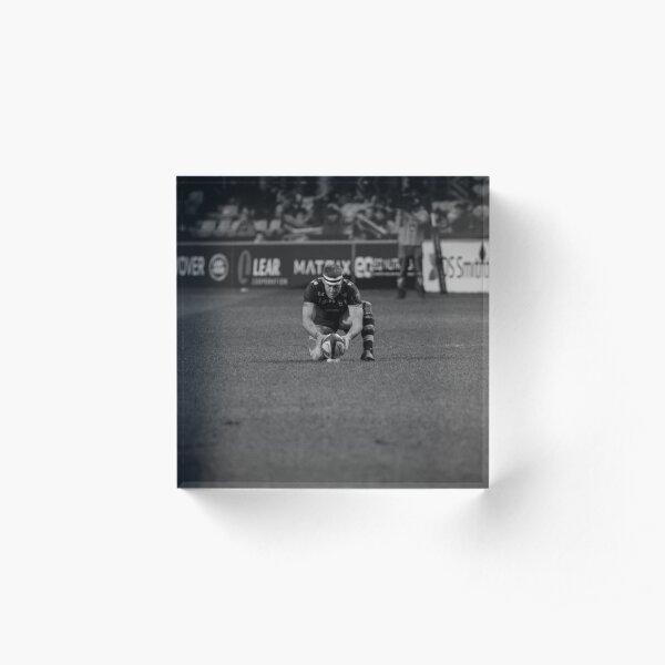 Jimmy Gopperth - the lonely goal kicker Acrylic Block