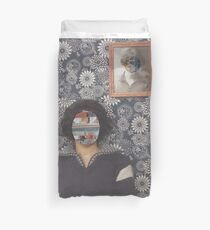Mirrored on Wall Duvet Cover